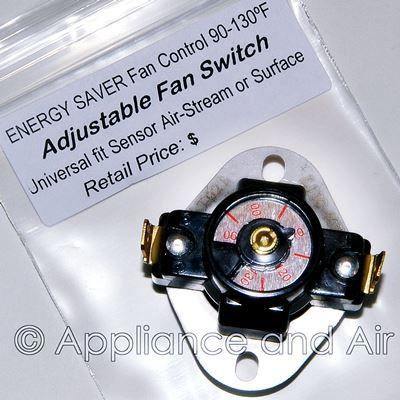 Fan Blower Low limit Switch information